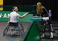Rotterdam, The Netherlands,7 march  2021, ABNAMRO World Tennis Tournament, Ahoy,  <br /> Wheelchair final: Gordon Reid (GBR) Alfie Hewett (GBR).<br /> Photo: www.tennisimages.com/henkkoster