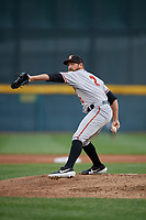 Altoona Curve pitcher Austin Coley (2) during an Eastern League game against the Erie SeaWolves on June 5, 2019 at UPMC Park in Erie, Pennsylvania.  Altoona defeated Erie 6-2.  (Mike Janes/Four Seam Images)