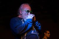"""Querétaro, Qro. 19 de Diciembre, 2015.- Foro lleno y gran ambiente durante la presentación del primer disco del grupo de blues queretano """"Rumorosa Blues"""" en el Museo de la Ciudad.<br /> <br /> Abrieron los bulleseis del grupo """"El Callejón"""", seguido por la intervención de """"La Rambla"""" para finalizar con la presentación de """"Rumorosa Blues""""<br /> <br /> Foto: David Steck"""