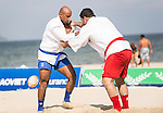 Iran vs Iraq during the Sambo competition on Day Nine of the 5th Asian Beach Games 2016 at Bien Dong Park on 02 October 2016, in Danang, Vietnam. Photo by Marcio Machado / Power Sport Images