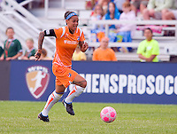 Sky Blue FC  forward Natasha Kai (6) carries the ball during a WPS match at Anheuser-Busch Soccer Park, in St. Louis, MO, June 7, 2009. Athletica won the match 1-0.