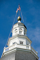Annapolis Maryland  Old Annapolis City Dock State House