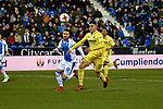 "Leganes vs Villarreal Daniel Rabaseda Antolin ""Raba""  during Copa del Rey match. 20180104."