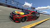 #19: Bobby Labonte, Joe Gibbs Racing, Toyota Camry<br /> <br /> (MEDIA: EDITORIAL USE ONLY) (This image is from the iRacing computer game)