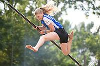 FIERJEPPEN: IT HEIDENSKIP, 31-07-2021, NFM, Sigrid Bokma, ©foto Martin de Jong