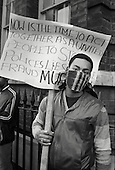 Demonstration to demand an enquiry into the death from gunshot wounds of Colin Roach, a young black man found dead on the steps of Stoke Newington police station.