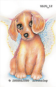 Marie, REALISTIC ANIMALS, REALISTISCHE TIERE, ANIMALES REALISTICOS, paintings+++++,USJO12,#A# ,Joan Marie,dog angel