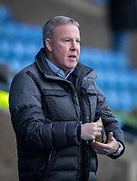Portsmouth manager Kenny Jackett during the Sky Bet League 1 match between Oxford United and Portsmouth at the Kassam Stadium, Oxford, England on 19 January 2019. Photo by Andy Rowland.