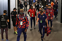 LAS VEGAS, NV - AUGUST 1: Gyasi Zardes #9 of the United States before a game between Mexico and USMNT at Allegiant Stadium on August 1, 2021 in Las Vegas, Nevada.