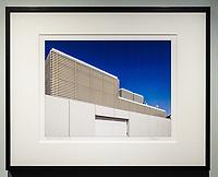 """Framed Size 16""""h x 20""""w, $365<br /> Matte Black Nielsen 117 metal frame with 8-ply mat"""