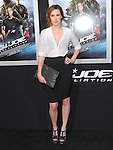 Rumer Willis  at The Paramount Pictures' L.A. Premiere of G.I. Joe : Retaliation held at The Grauman's Chinese Theater in Hollywood, California on March 28,2013                                                                   Copyright 2013 Hollywood Press Agency