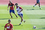Isco Alarcon during training of the spanish national football team in the city of football of Las Rozas in Madrid, Spain. August 30, 2017. (ALTERPHOTOS/Rodrigo Jimenez)