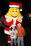 Megan and Callum O'Brien at the Arrival of Santa and the turning on of the Christmas Lights in Dunleer...(Photo credit should read Jenny Matthews www.newsfile.ie)....This Picture has been sent you under the conditions enclosed by:.Newsfile Ltd..The Studio,.Millmount Abbey,.Drogheda,.Co Meath..Ireland..Tel: +353(0)41-9871240.Fax: +353(0)41-9871260.GSM: +353(0)86-2500958.email: pictures@newsfile.ie.www.newsfile.ie.