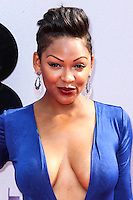 LOS ANGELES, CA - JUNE 30: Meagan Good attends the 2013 BET Awards at Nokia Theatre L.A. Live on June 30, 2013 in Los Angeles, California. (Photo by Celebrity Monitor)