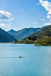 Italy, Trentino: lake Lago di Ledro at Val di Ledro | Italien, Trentino: der Ledrosee (Lago di Ledro) im Val di Ledro