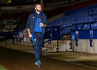 Bolton Wanderers' head coach Ian Evatt arriving at the stadium <br /> <br /> Photographer Andrew Kearns/CameraSport<br /> <br /> The EFL Sky Bet League Two - Bolton Wanderers v Salford City - Friday 13th November 2020 - University of Bolton Stadium - Bolton<br /> <br /> World Copyright © 2020 CameraSport. All rights reserved. 43 Linden Ave. Countesthorpe. Leicester. England. LE8 5PG - Tel: +44 (0) 116 277 4147 - admin@camerasport.com - www.camerasport.com