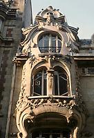 Jules Lavirotte: Rue Sedillot, Paris. Detail.