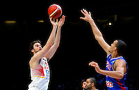 Spain's Pau Gasol during European championship semi-final basketball match between France and Spain on September 17, 2015 in Lille, France  (credit image & photo: Pedja Milosavljevic / STARSPORT)