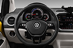 Car pictures of steering wheel view of a 2017 Volkswagen E-Up - 5 Door Hatchback Steering Wheel