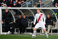 Chester, PA - Sunday December 10, 2017: Cory Thomas. Stanford University defeated Indiana University 1-0 in double overtime during the NCAA 2017 Men's College Cup championship match at Talen Energy Stadium.