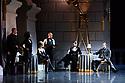 "Matthew Bourne's ""Swan Lake"" returns to Sadler's Wells Theatre, for a run until Sunday 27th January 2019. Choreographed by Matthew Bourne, with lighting design by Paule Constable and costume design by Lez Brotherston. Dancer are: Matthew Ball (The Swan), Liam Mower (The Prince), Nicole Kabera (The Queen), Katrina Lyndon (The Girlfriend), Glenn Graham (The Private Secretary), Megan Cameron (The Hungarian Princess), Freya Field (The German Princess), Zanna Cornelis (The Romanian Princess), Nicole Alphonse, Jonathan Luke Baker, Tom Broderick, Kayla Collymore, Keenan Fletcher, Bryony Harrison, Parsifal James Hurst, Jack Mitchell, Harry Ondak-Wright, Ashley-Jordan Packer, Jack William Parry, Stan West, Carrie Willis. Picture shows: Megan Cameron (Hungarian Princess), Matthew Ball (The Swan)"
