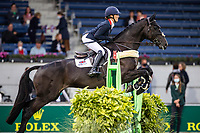 GBR-Laura Collett rides Decapo during the Jumping for the CCIO4*-S Eventing - SAP Cup. Interim-2nd. 2021 GER-CHIO Aachen Weltfest des Pferdesports. Aachen, Germany. Friday 17 September. Copyright Photo: Libby Law Photography