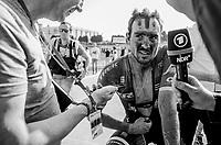 John Degenkolb (DEU/Trek-Segafredo) post race interview<br /> <br /> 115th Paris-Roubaix 2017 (1.UWT)<br /> One day race: Compiègne > Roubaix (257km)