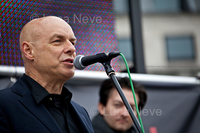Brian Eno, English musician - 2011<br />