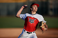 Clay Tyas during the Under Armour All-America Tournament powered by Baseball Factory on January 18, 2020 at Sloan Park in Mesa, Arizona.  (Mike Janes/Four Seam Images)