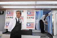 - Milano, cantiere per  l'Esposizione Mondiale Expo 2015; cerimonia per l'inizio dei lavori di costruzione del padiglione USA <br /> <br /> - Milan,  construction site for the World Exhibition Expo 2015; ceremony for the start of construction of the U.S. Pavilion
