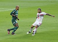 São Paulo (SP), 23/05/2021 - São Paulo-Palmeiras - Partida entre São Paulo e Palmeiras válida pela final do Campeonato Paulista no estádio do Morumbi em São Paulo, neste domingo (23).