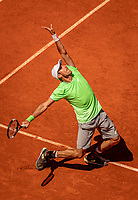Paris, France, 2 june, 2019, Tennis, French Open, Roland Garros, Leonardo Mayer (ARG)<br /> Photo: Henk Koster/tennisimages.com