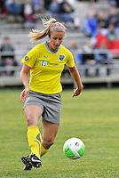 Allison Falk...Saint Louis Athletica defeated Philadelphia Independence 2-1 at Anheuser-Busch Soccer Park, Fenton, MO.