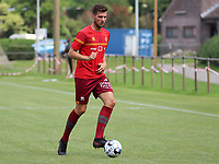 Jordi Vanlerberghe (30) of KV Mechelen pictured during the warm up before a friendly soccer game between KV Mechelen and the Greek Volos NFC during the preparations for the 2021-2022 season , on saturday 17 of July 2021 in GEEL , Belgium . PHOTO SEVIL OKTEM | SPORTPIX