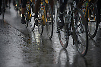 wet wheels<br /> <br /> Tour of Britain 2013<br /> stage 2: Carlisle to Kendal (187km)