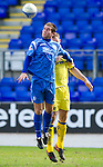 St Johnstone v Kilmarnock....02.04.11 .Peter MacDonald and Frazer Wright.Picture by Graeme Hart..Copyright Perthshire Picture Agency.Tel: 01738 623350  Mobile: 07990 594431