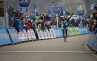 Ever since returning to cyclocross (after 2 years of not participating) Marianne Vos (NED/WM3) is back to her winning habits after only a few races<br /> <br />  GP Sven Nys 2017