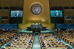 General Assembly Seventy-fourth session, 7th plenary meeting<br /> <br /> Dominic repoblic