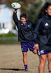 Kristina Sue. Black Ferns Rugby training prior to the teams departure for the Women's World Cup, Orakei Domain, Auckland, New Zealand. Photo: Simon Watts / www.bwmedia.co.nz