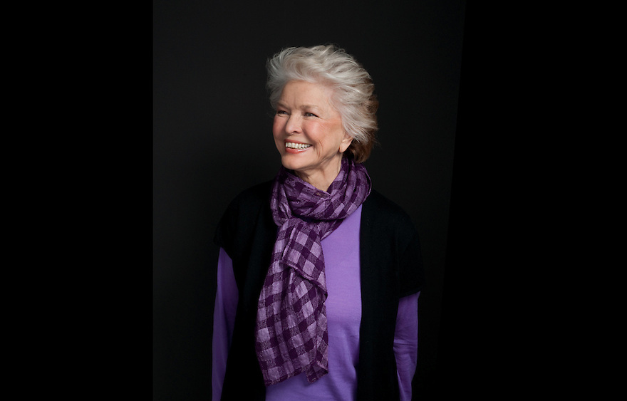 """Actress Ellen Burstyn photographed for the Creative Coalition """"It Starts with the Arts"""" Project"""