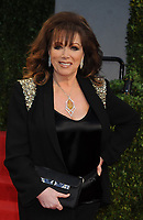 WEST HOLLYWOOD, CA - FEBRUARY 27:  Jackie Collins attends the 2011 Vanity Fair Oscar Party Hosted by Graydon Carter at the Sunset Tower Hotel on February 27, 2011 in West Hollywood, California<br /> <br /> <br /> People:  Jackie Collins