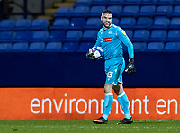 Bolton Wanderers' goalkeeper/coach Matthew Gilks smiles<br /> <br /> Photographer Andrew Kearns/CameraSport<br /> <br /> The EFL Sky Bet League Two - Bolton Wanderers v Salford City - Friday 13th November 2020 - University of Bolton Stadium - Bolton<br /> <br /> World Copyright © 2020 CameraSport. All rights reserved. 43 Linden Ave. Countesthorpe. Leicester. England. LE8 5PG - Tel: +44 (0) 116 277 4147 - admin@camerasport.com - www.camerasport.com