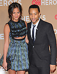 John Legend and Christine Teigen  at The CNN Heroes: An All-star Tribute held at The Shrine Auditorium in Los Angeles, California on November 20,2010                                                                               © 2010 Hollywood Press Agency