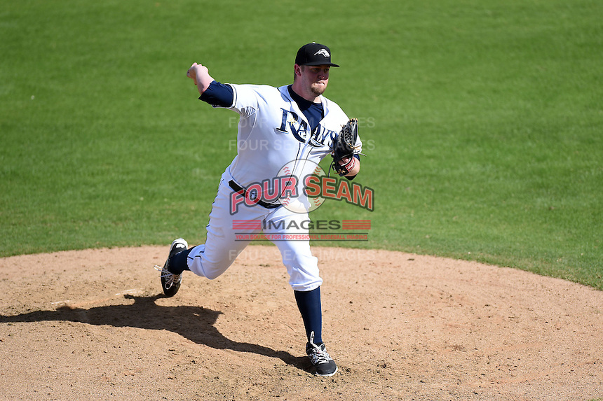 Peoria Javelinas pitcher Matt Lollis (33) during an Arizona Fall League game against the Scottsdale Scorpions on October 18, 2014 at Surprise Stadium in Surprise, Arizona.  Peoria defeated Scottsdale 4-3.  (Mike Janes/Four Seam Images)