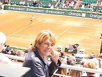 01-06-13, Tennis, France, Paris, Roland Garros, Marcella Mesker court Philippe Chatrier (centercourt)