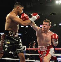 Canelo Khan Fight 050716