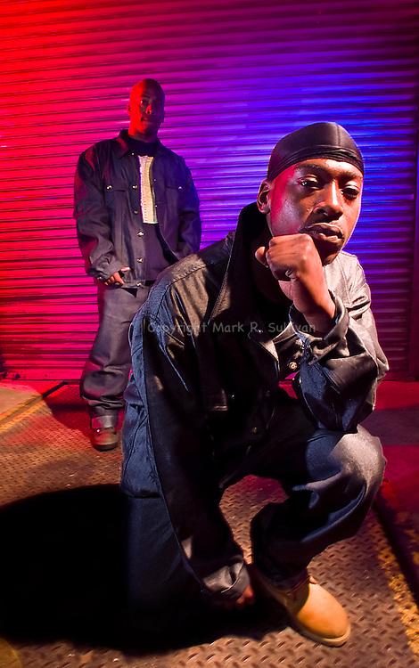 LEFTY GUNNZ AND STEVE STONE...East Brunswick, NJ.9/25/2000..MARK R. SULLIVAN/markrsullivan.com © 2000