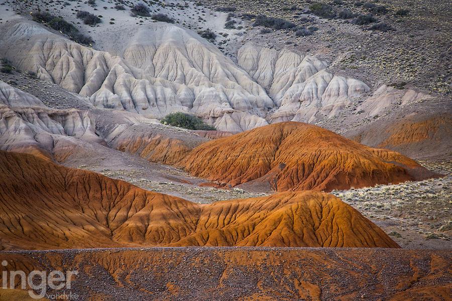 The Valley of Colours near Cueva de las Manos in Patagonia, Argentina