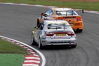 Round 10 of the 2005 British Touring Car Championship. #8. Dan Eaves (GBR). Team Halfords. Honda Integra Type R. #11. Jason Plato (GBR). SEAT Sport UK. SEAT Toledo.