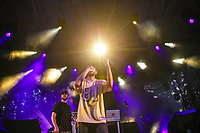 Dead Obies performs at the Festival d'ete de Quebec in Quebec city Wednesday July 13, 2016.